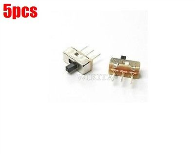 Small Size Switch Onoff Ss12d00g3 5 Pcs 3-pin Dip Through-hole 3.7x8.5mm 1p2 Cc