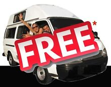 $1 a day to relocate our campervans - from Brisbane Brisbane City Brisbane North West Preview