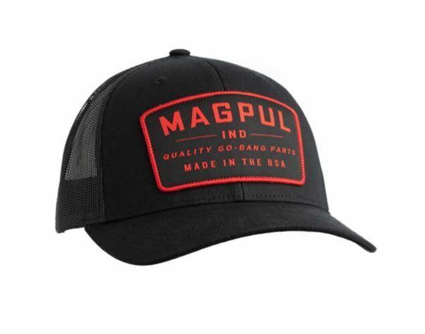 Magpul  MAG1102-001 Go Bang Black Trucker Hat