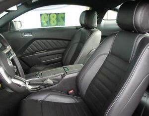 2011 2013 Ford Mustang Coupe V6 Gt Base Leather Interior Black