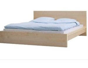 Ikea Malm Bed Frame and Ikea mattress
