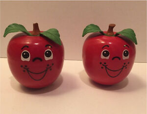2 vintage happy apples  Kitchener / Waterloo Kitchener Area image 1
