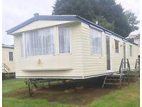 Cheap static caravan £11,995 inc free insurance, pet friendly and 11 month season