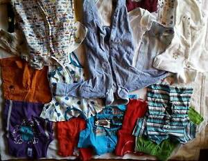 Baby boy clothes 00-0, towels, bassinet sheets & blanket Lesmurdie Kalamunda Area Preview