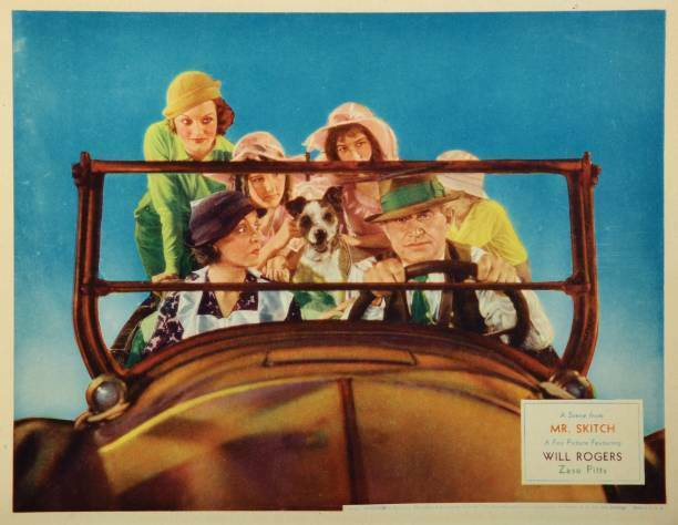 OLD MOVIE PHOTO Mr Skitch Lobby Cardmr Skitch Front Zasu Pitts Will Rogers