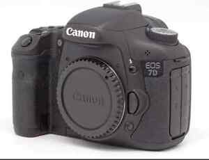 Canon 7D SLR with Kit Lens