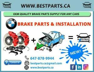 BMW Brake Parts with Installation E90/E60/F10/X1/X3/X5/X6 any Year