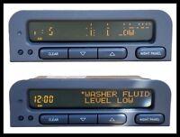 Saab 9-3 . 9-5 Reparation d'affichage écran LCD pixel defectueux