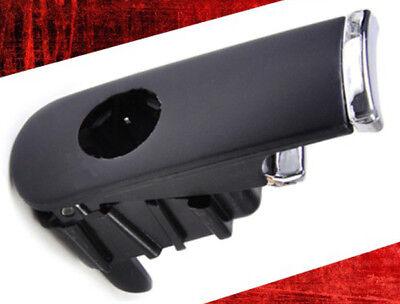 GLOVE BOX HANDLE CATCH LOCK LID BLACK CHROME FOR AUDI A4 B6 B7 8E 8F 2001-2008
