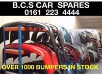 VAUXHALL CORSA C D E. BUMPERS USED. RED BLACK BLUE SILVER WHITE. ASK. 2001 - 2014