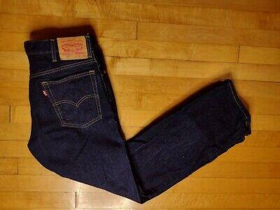 Levis Mens 517 Bootcut Jeans Blue 5 Pockets Dark Wash Regular Fit Denim 34 X 30
