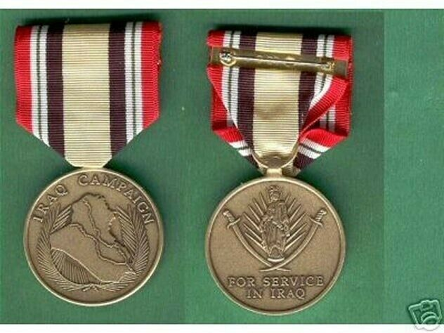 US IRAQ CAMPAIGN MEDAL