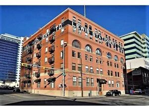 Historic Lewis Loft to Rent in Downtown Calgary