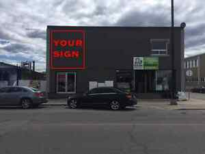 COMMERCIAL SPACE FOR LEASE - LOCAL A LOUER