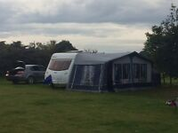 Caravan awning size 14 (1038 - 1063)with annexe