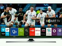 """Samsung 40"""" LED smart wifi built USB MEDIA PLAYER HD FREEVIEW and Screen mirror full hd 1080p ."""