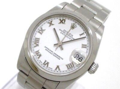 Auth ROLEX Datejust 78240 Silver Unisex Wrist Watch Y833869