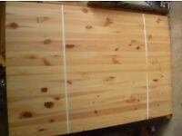 Trestle table pine - new