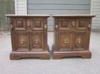 """VINTAGE NIGHT STANDS BY GIBBARD """"YOUR RESTYLING PROJECT"""""""