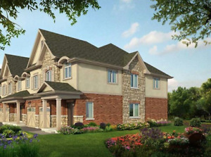 BRAND NEW STUNNING FREEHOLD END UNIT TOWNHOME  IN BEAMSVILLE