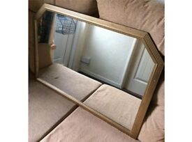 Two large mirrors in good condition