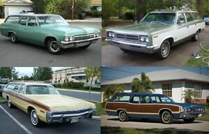 WANTED: 1960's - 1970's STATION WAGON