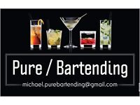 Cocktail Bartender for Hire
