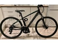 "Carrera Crossfire 2 Mens Hybrid Bike - 17"" Black"