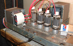 wanted hi power tube amp amplifier stereo or two mono prefered