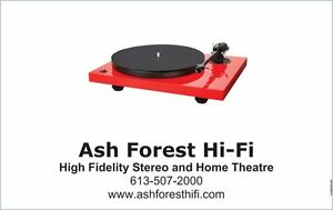 Ash Forest Hi-Fi 210 Princess St. Sales and Service - Audio