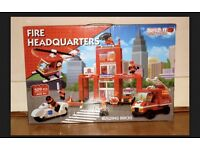 Fire headquarters Build it mini bricks. New