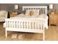 White Pine Double Bed
