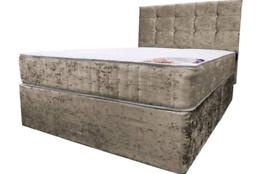 🔴🔴🔵 FRESHLY BUILT DIVAN BEDS WITH MATTRESS
