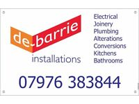 All Building, Joinery, Electrical & Plumbing Installations. All small/odd jobs in DERBY area.