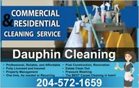 Hiring Residential and Commercial Cleaners - Dauphin MB