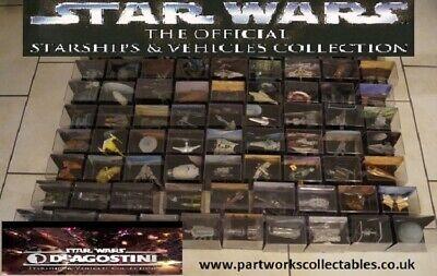 Deagostini Star Wars Starships Vehicles