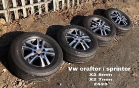 Vw crafter / sprinter Alloys
