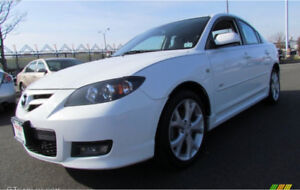 Looking for a white Mazda