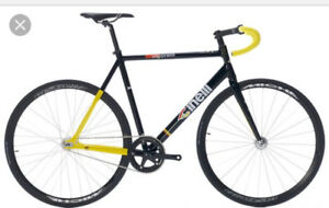 Cinelli Vigorelli Pista/Track Frame - brand new - Black is Black