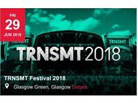 TRNSMT Friday 29th June pair of Tickets