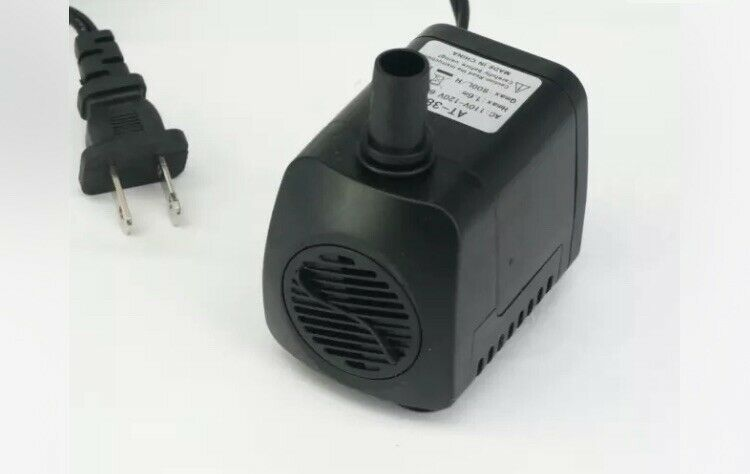 110V 15W 800L/H Submersible Pump Brushless Motor For Aquarium Tank US Plug