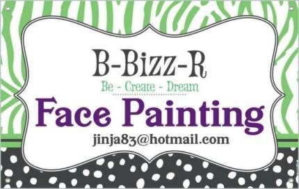B-Bizz-R Face and Body Painting Lyons Woden Valley Preview