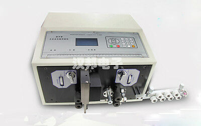110v Us 0.1-2.5mm2 Computer Automatic Wire Peeling Stripping Cutting Machine Y