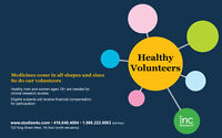 INC Research is currently recruiting Healthy Volunteers