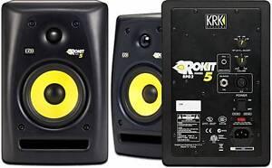 KRK Rokit 5 Studio Monitor (pair) Pasadena Mitcham Area Preview