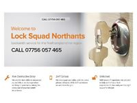 LOCKSMITH IN KETTERING AND SURROUNDING AREAS - COMPETITIVE RATES - Call 07756057465