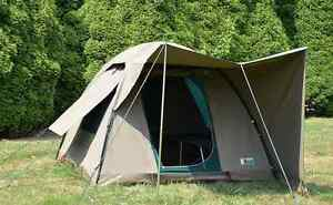 Tent Campmor Safari Bow 3 x 3 Canvas Dome Sherwood Brisbane South West Preview