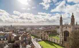 CAMBRIDGE UNIVERSITY STUDENT WALKING TOUR GUIDES URGENTLY NEEDED. (Full training given)