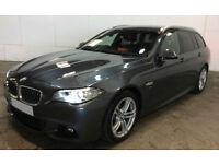 Grey BMW 520 2.0TD Touring Auto 2016 d M Sport FROM £83 PER WEEK!