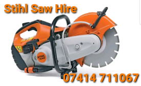 STIHL CUT OFF SAW HIRE IN YORK HARROGATE WETHERBY TADCASTER LEEDS